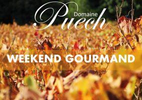 WEEKEND GOURMAND, Marché des producteurs au Domaine Puech