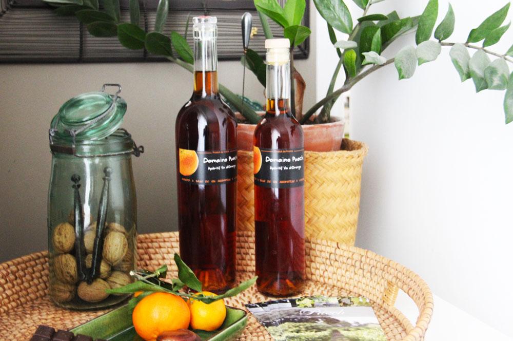 Vin d'orange, recette traditionnelle Domaine Puech Saint Clément