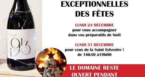 Les fêtes de fin d'année avec les vins du Domaine Puech
